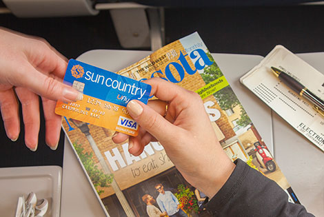 Login With Sun Country Airlines Visa Credit Card